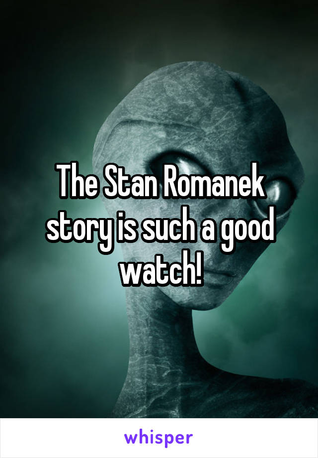 The Stan Romanek story is such a good watch!