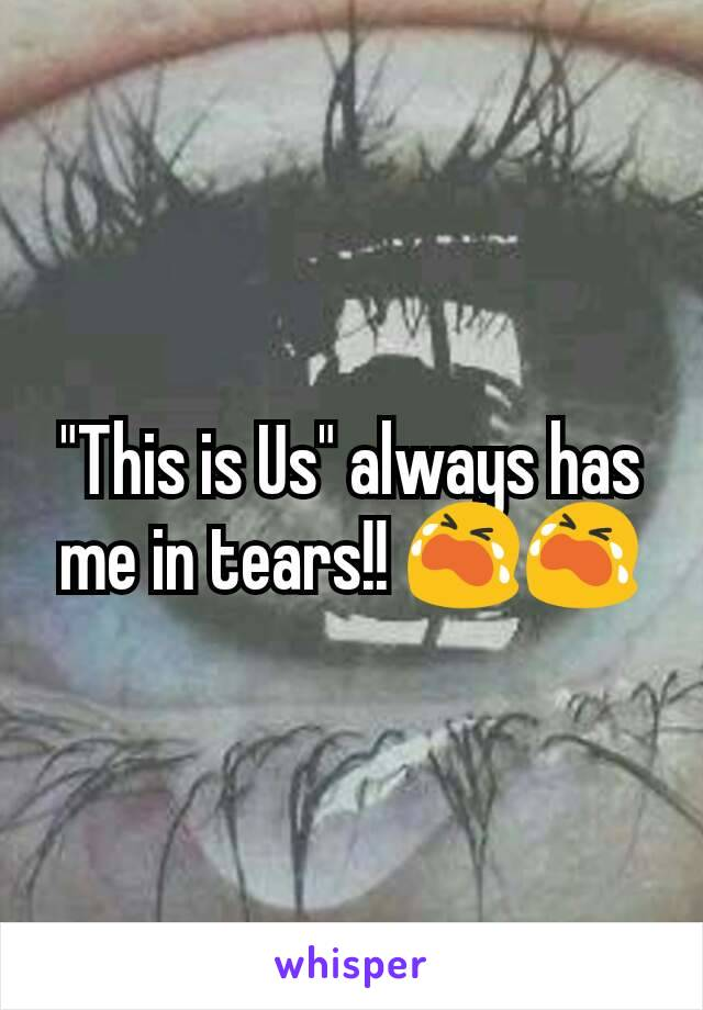 """""""This is Us"""" always has me in tears!! 😭😭"""