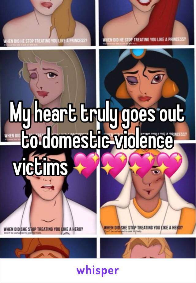 My heart truly goes out to domestic violence victims 💖💖💖💖