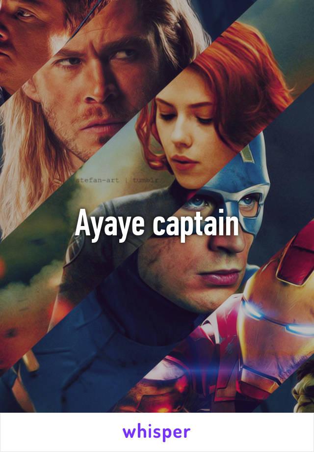 Ayaye captain