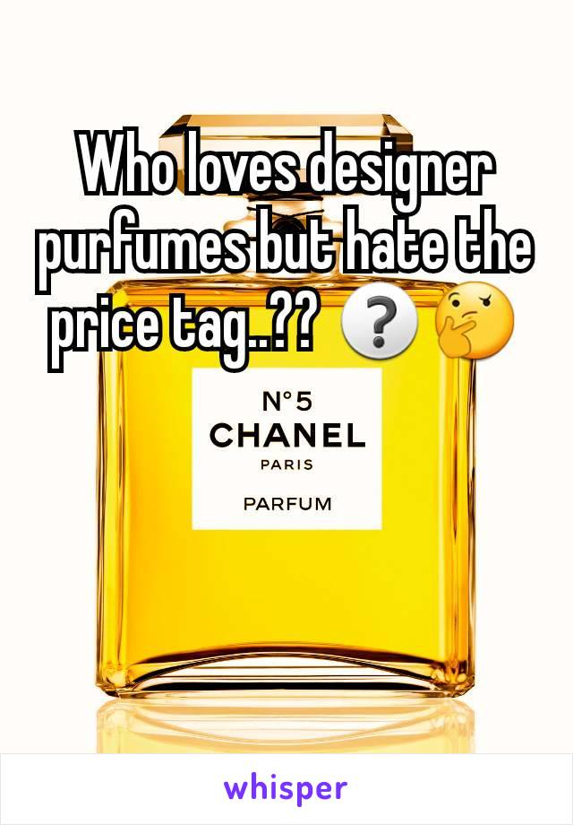 Who loves designer purfumes but hate the price tag..?? ❓🤔