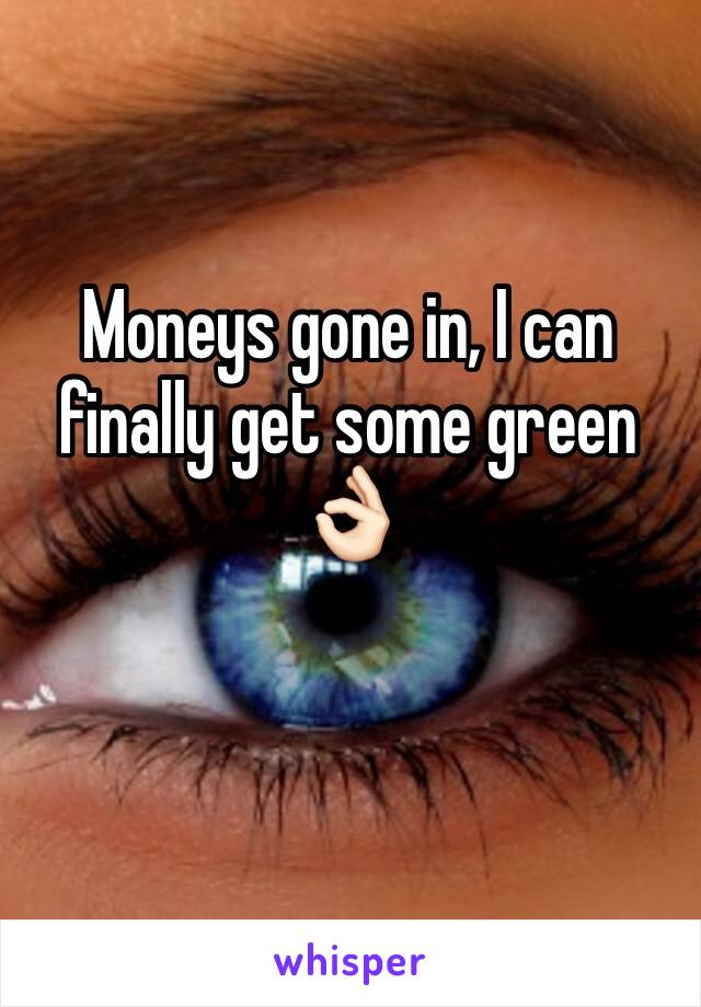 Moneys gone in, I can finally get some green 👌🏻