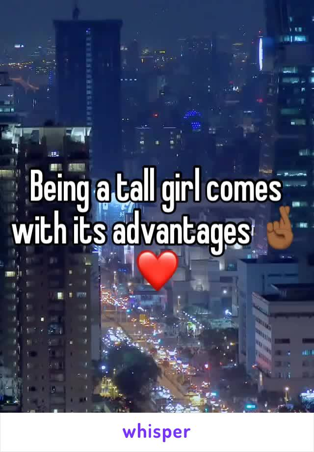 Being a tall girl comes with its advantages 🤞🏾❤️