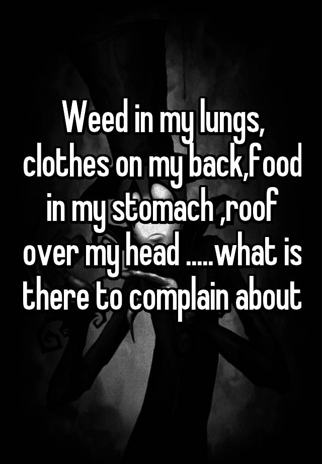 'what is there to complain about