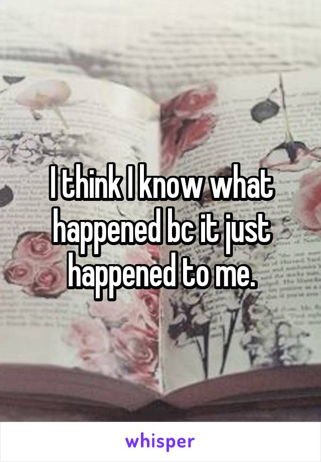 I think I know what happened bc it just happened to me.