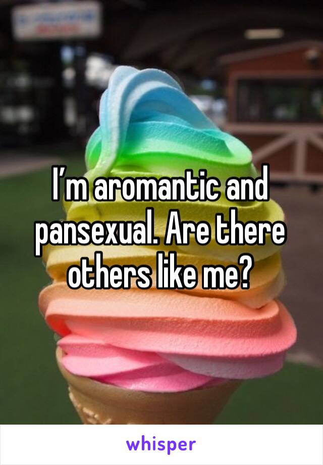 I'm aromantic and pansexual. Are there others like me?