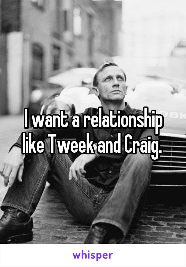 I want a relationship like Tweek and Craig.