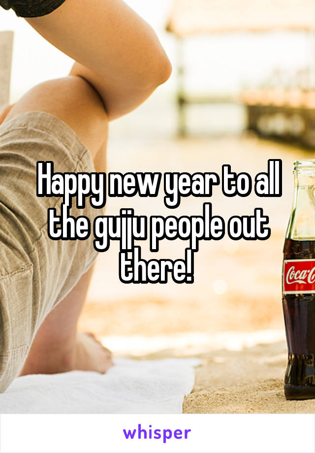 Happy new year to all the gujju people out there!