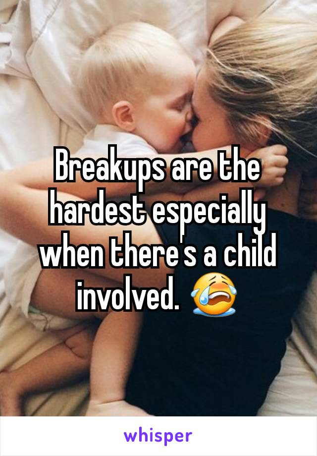 Breakups are the hardest especially when there's a child involved. 😭