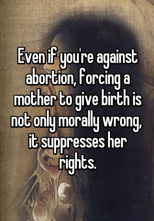 a description of abortion as the ending of pregnancy before birth and is morally wrong The moral status of abortion it is therefore morally wrong to kill biafrans abortion: a birth that occurs before the embryo has developed enough to live.