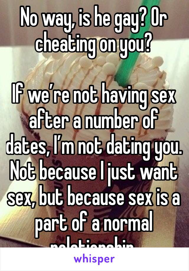 Is It Cheating If Youre Not Dating