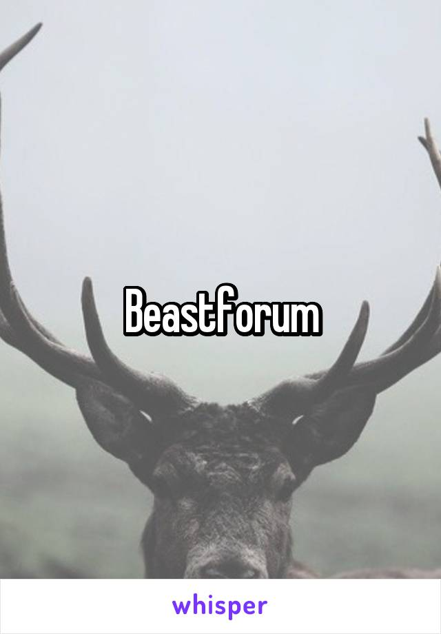 Beastforum
