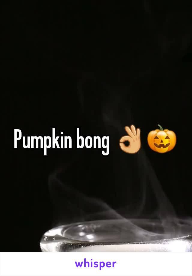 Pumpkin bong 👌🎃