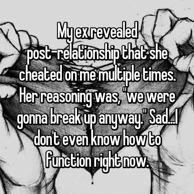why do women break up with men