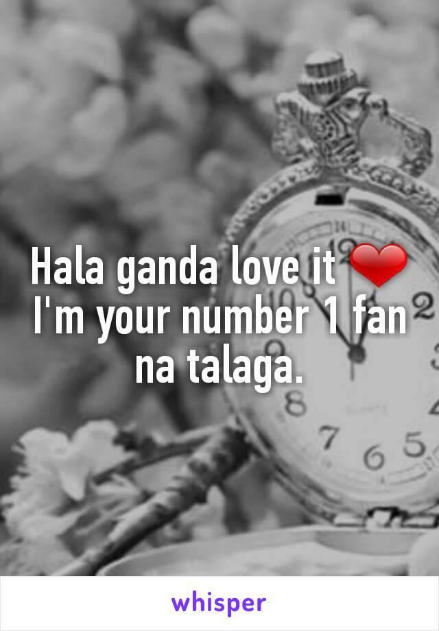 Hala ganda love it ❤ I'm your number 1 fan na talaga.