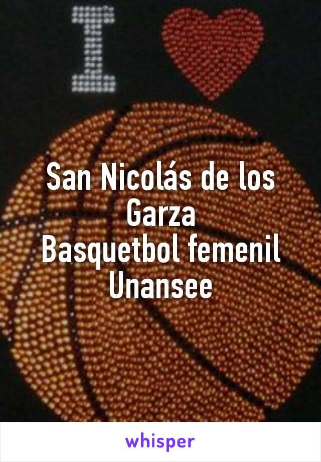 San Nicolás de los Garza Basquetbol femenil Unansee