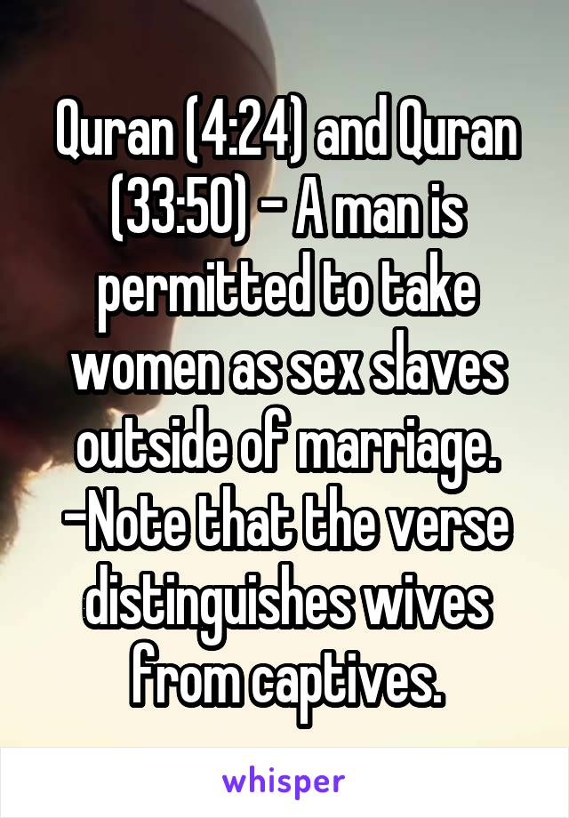 sex in the quran