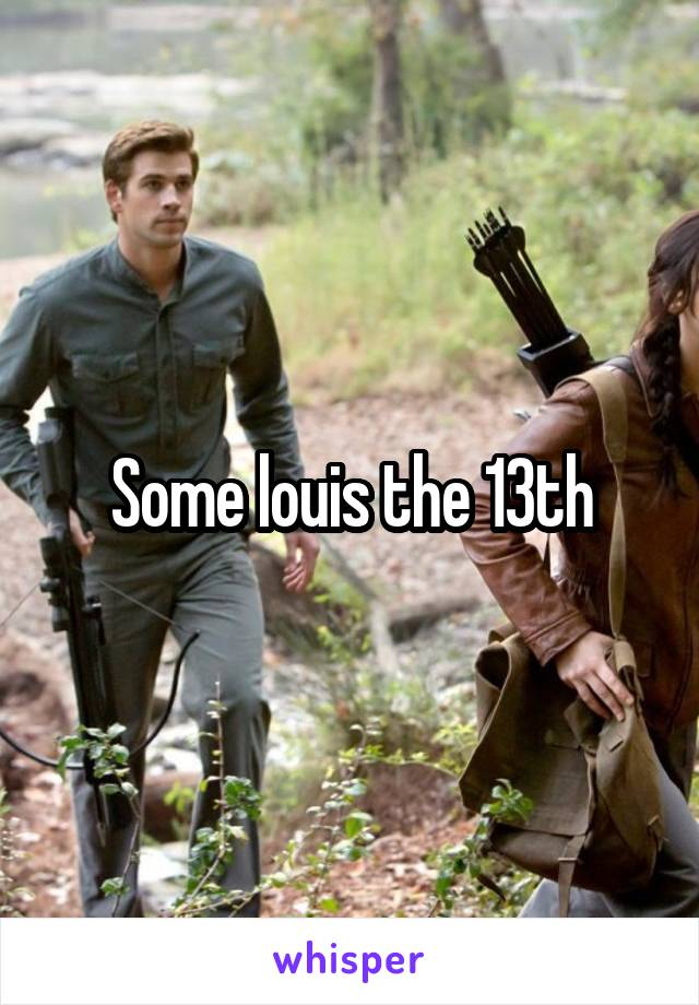 Some louis the 13th