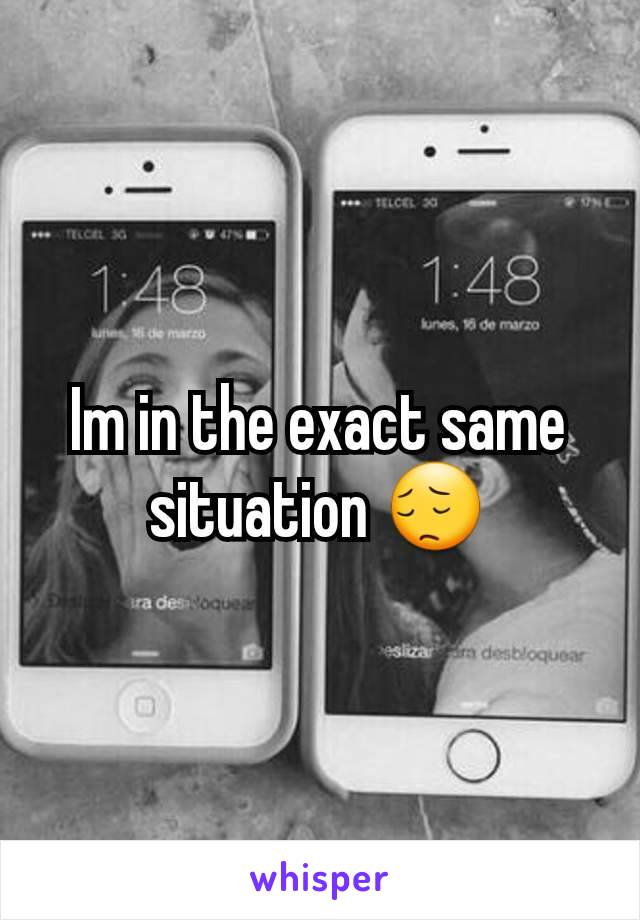 Im in the exact same situation 😔