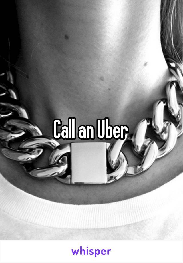Call an Uber