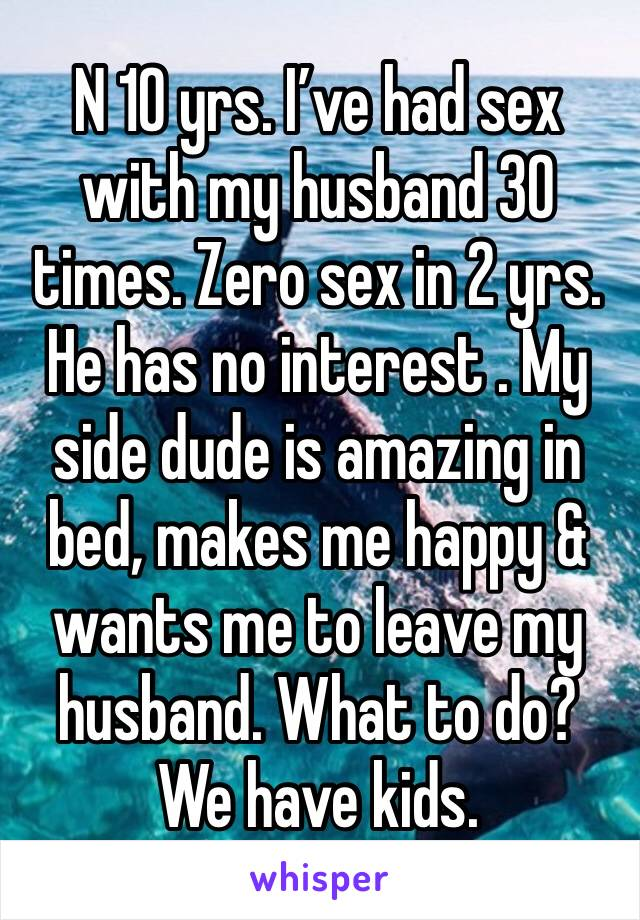 my husband has no interest in sex