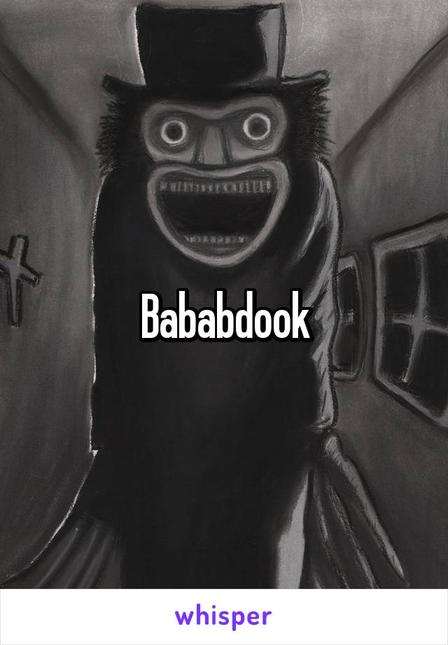 Bababdook