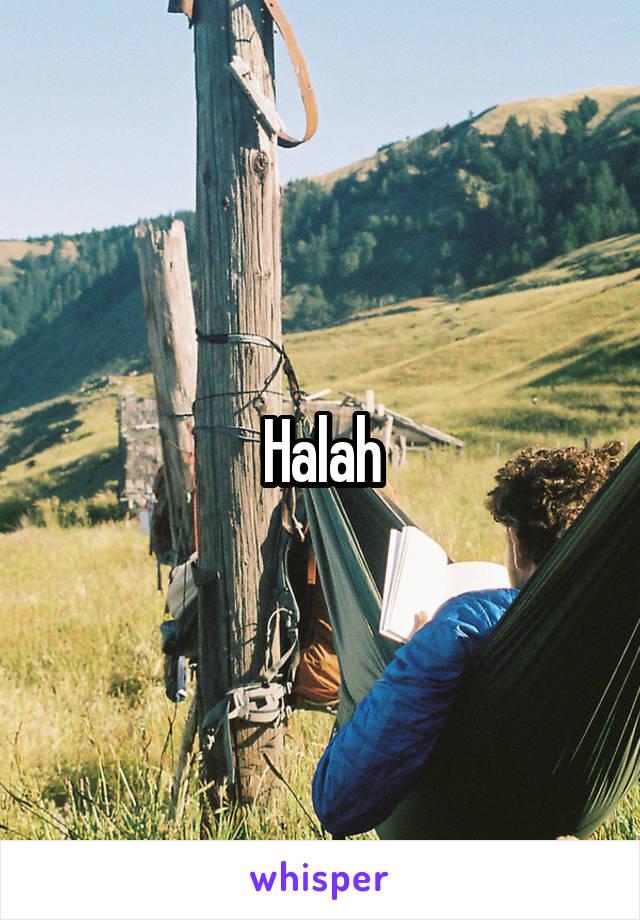 Halah