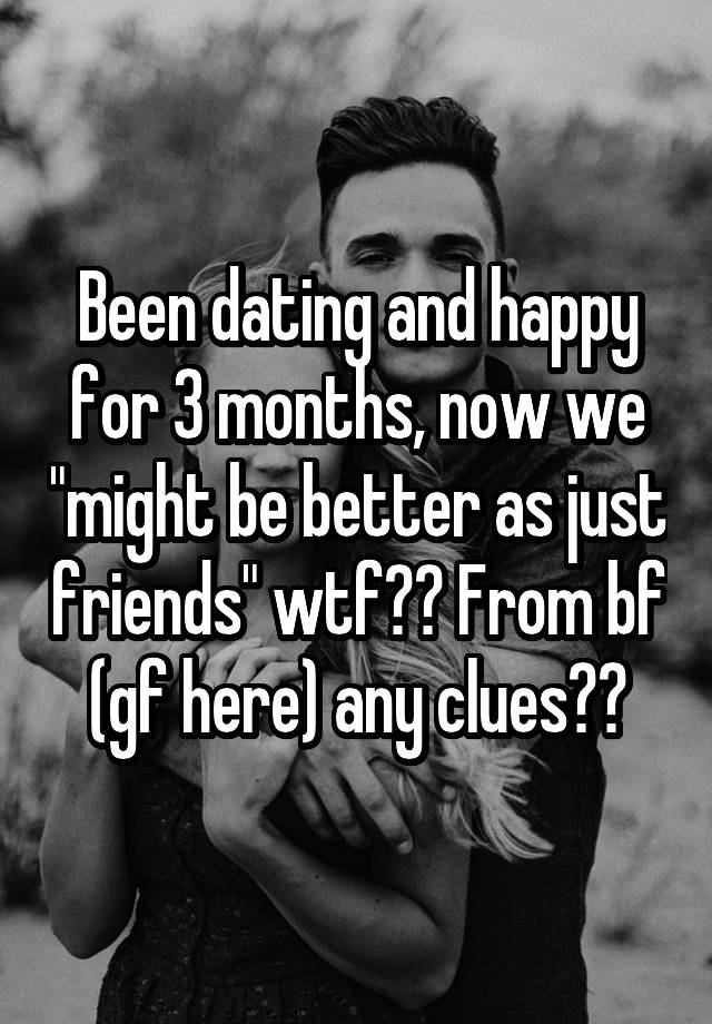 we were dating for 3 months We were in relationship for 5-6 months and i started seeing decline in interest after 2-3 months the meetings starts getting canceled and then i was out for business trip for 2 consecutive months and then went to my home country.