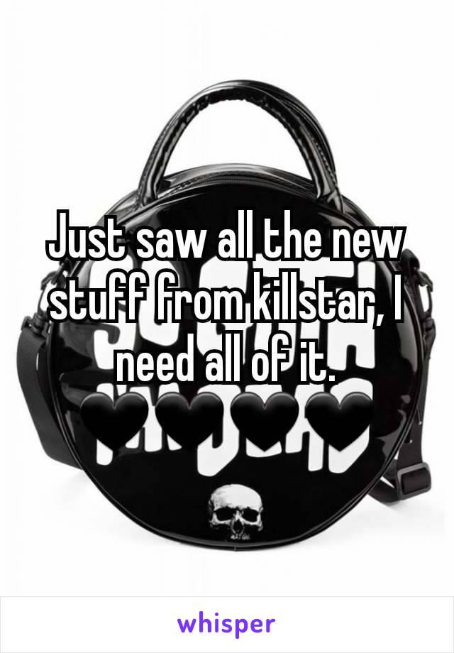 Just saw all the new stuff from killstar, I need all of it. 🖤🖤🖤🖤