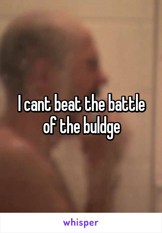 I cant beat the battle of the buldge