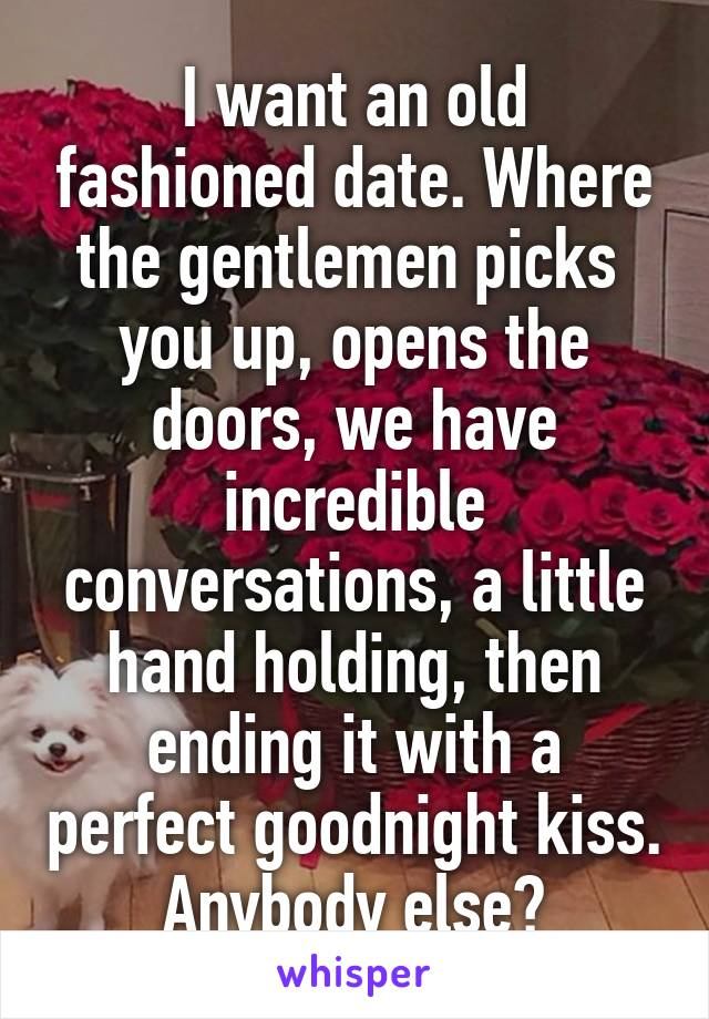 Old Fashioned Dating Memes