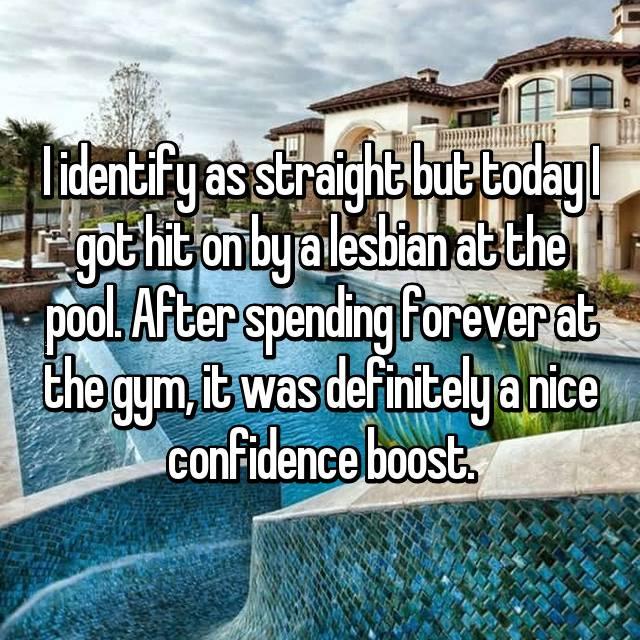 Teen lesbians in the pool