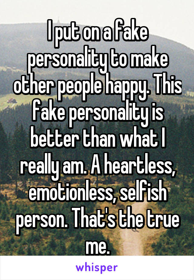 what makes a person heartless