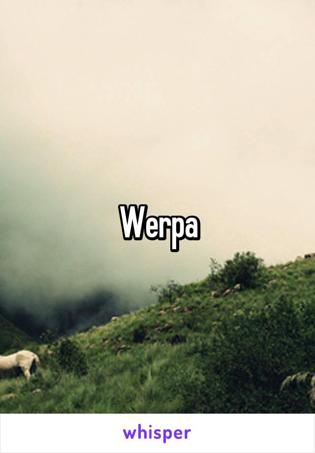 Werpa