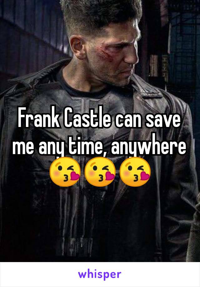 Frank Castle can save me any time, anywhere 😘😘😘