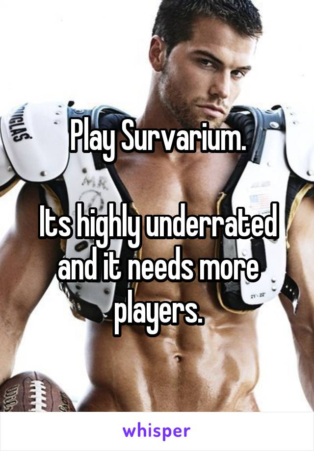 Play Survarium.  Its highly underrated and it needs more players.
