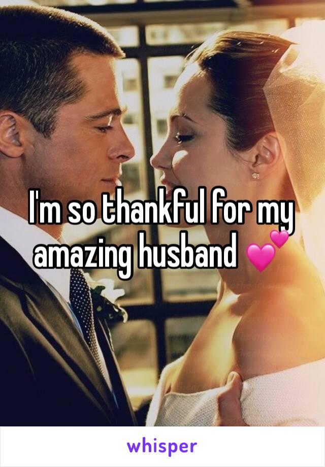 I'm so thankful for my amazing husband 💕