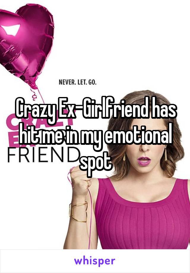 Crazy Ex-Girlfriend has hit me in my emotional spot