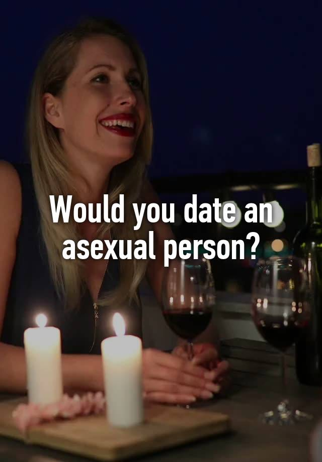 Asexual person