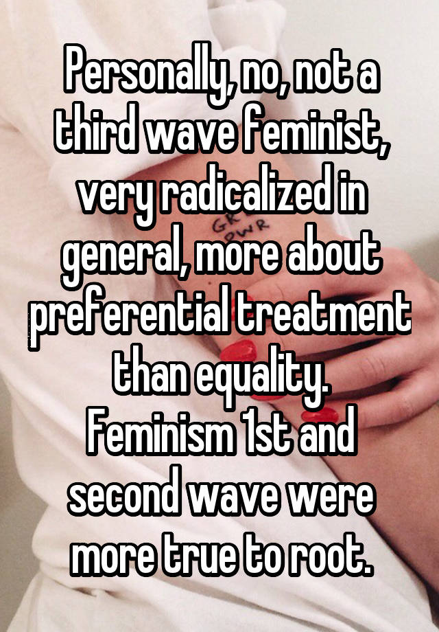 the controversy and radicalism of the second wave of feminism An early analysis of the second feminist wave: voice of the emerging radical feminism the second feminist wave included photographs the controversy.
