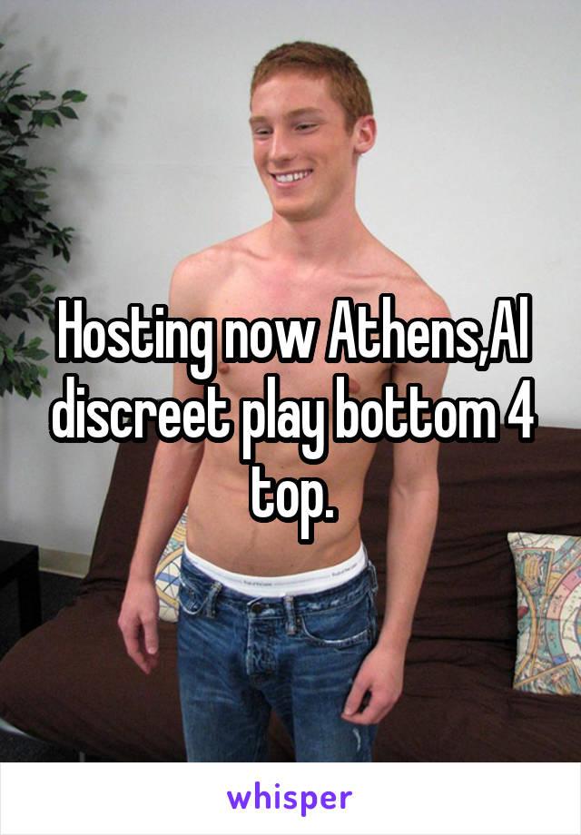 Hosting now Athens,Al discreet play bottom 4 top.