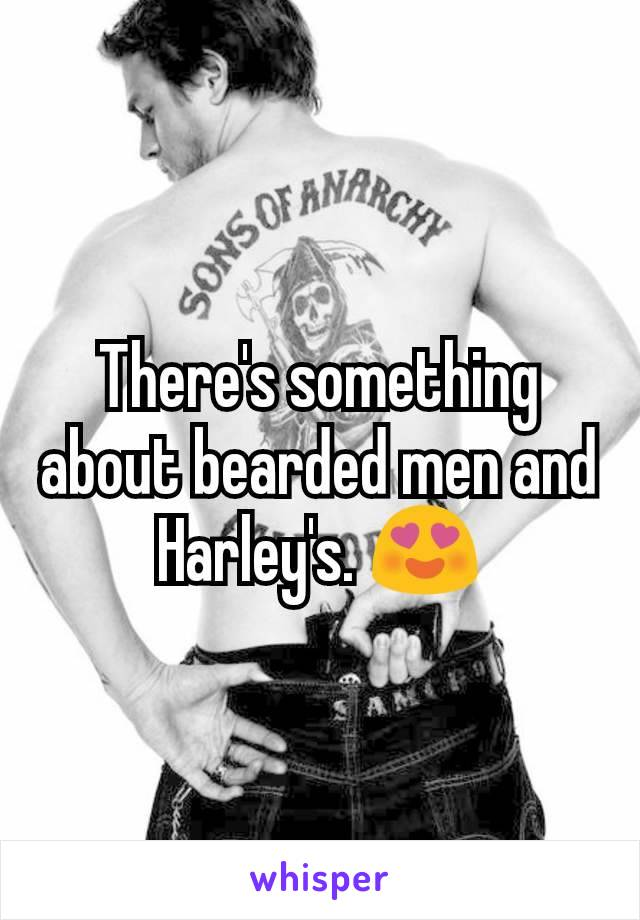 There's something about bearded men and Harley's. 😍