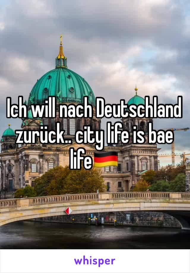 Ich will nach Deutschland zurück.. city life is bae life🇩🇪