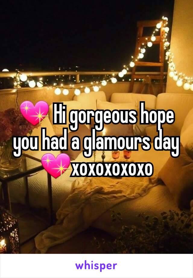 💖 Hi gorgeous hope you had a glamours day💖xoxoxoxoxo