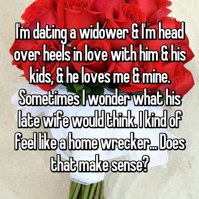 Loving a widower