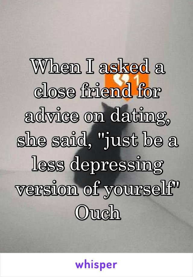 dating a close friend