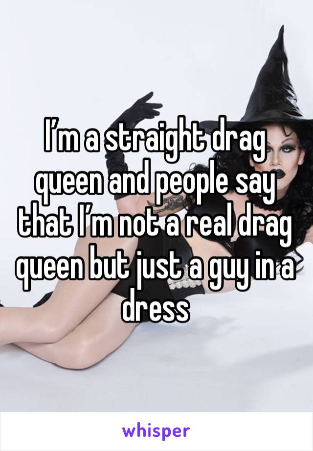 straight drag queen