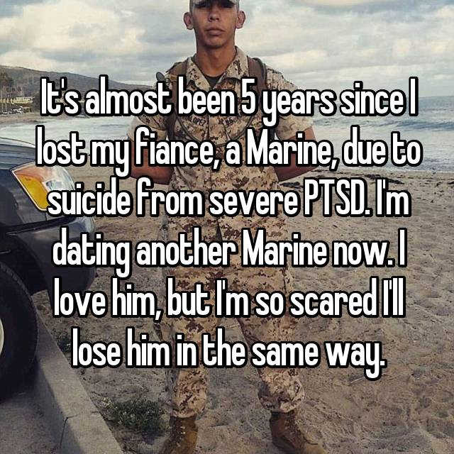 dating a marine with ptsd