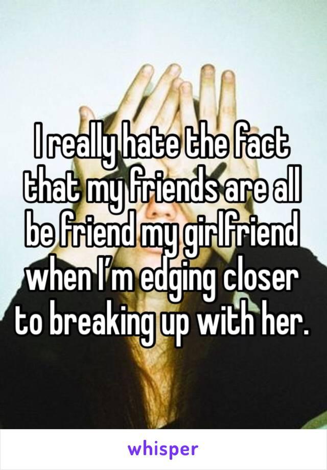 Edging My Friend