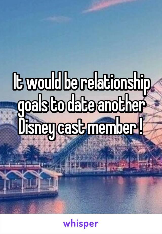 Dating disney cast member
